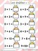 French Math Addition Bundle - Doubles & Doubles + 1
