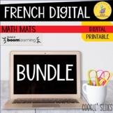 French Math Mats + Digital Addition Farm Bundle