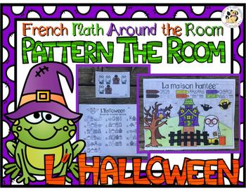 French Math Patterns: L'Halloween