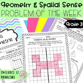French Math Problem of the Week - Geometry/La géométrie (Problèmes de maths)