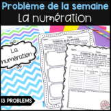 French Math Problem of the Week - Numération (Addition, Subtraction, Money etc.)