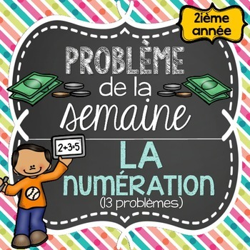 French Math Problem of the Week - Place value, Addition, M