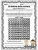 French Math Problem of the Week - Patterning GRADE 2 (Les suites et l'algèbre)