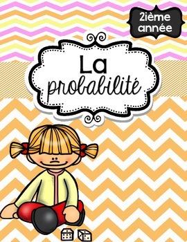 French Math Problem of the Week - Probability (La probabilité) GRADE 2