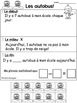 French Math Stories (L'hiver) Addition & Soustraction 1-10, French Word Problems