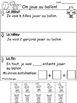 French Math Word Problems - Résolution de problèmes en maths - printemps - été