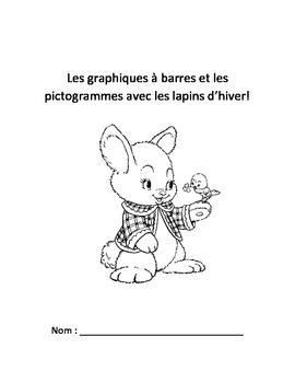 French Math Survey and Graphing (Bar Graphs and Pictographs) French Immersion