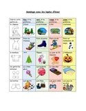 French Math Survey and Graphing (Bar Graphs and Pictograph