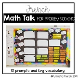French Math Talk Posters for Problem Solving