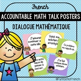 French Accountable Math Talk Prompt Posters (Dialogue Mathématique)