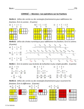 French Math Tests (Grade 7)