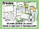 French Math Work Mats Collection