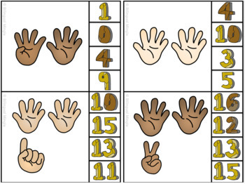 French Math and Literacy Centre Clip Cards - JUNE/SUMMER Edition