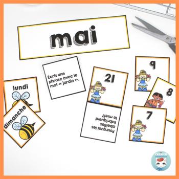 French May Calendar Cards | MAI