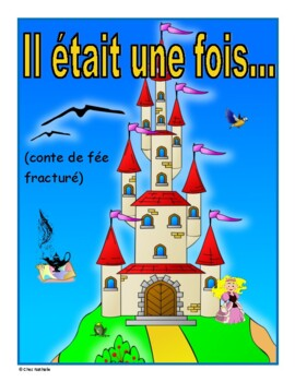 French May Writing Activity (Fractured Fairy Tale)