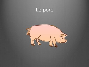 French Meats Vocabulary