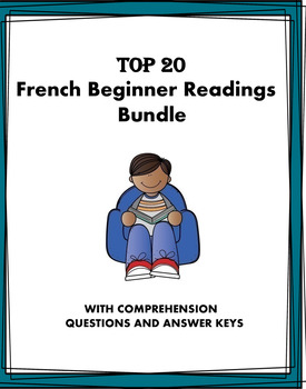 French Mega Beginner Reading Bundle: 20 Lectures ! (French I/II) 50% OFF!