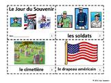 French Memorial Day 2 Booklets - Le Jour de Souvenir