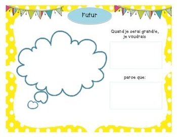 French Memory Booklet! *Great Beginning or End of Year Activity