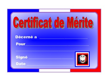 French  Merit Certificates ,2.
