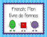 French Mini Shape Book: mon livre de formes
