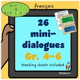 French: Mini-dialogues