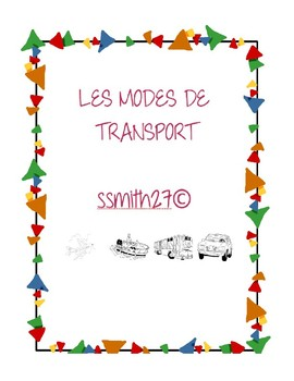 Les Modes of Transport - French Transportation