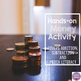 French Money Math Activity (Addition, Subtraction, Media L