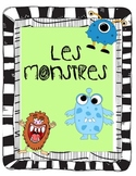 French Monsters and Halloween Reading and Writing Activities