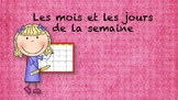 French Months and Days of the Week Bulletin Board