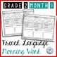 French Morning Work Grade 2 BUNDLE | French Bell Work | Travail du matin