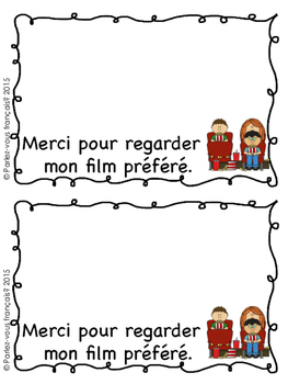 French Mother's Day Booklet- Fete des meres
