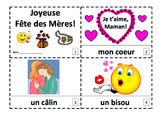 French Mother's Day 2 Emergent Reader Booklets