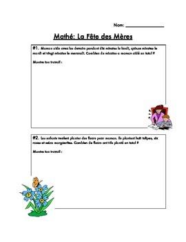 French Mother's Day Unit (La Fête des Mères)
