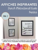 French Motivational Quote Posters / Affiches Inspirantes