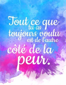 French Motivational Quote Posters | Affiches motivationnelles