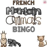 French Mountain Animals Bingo