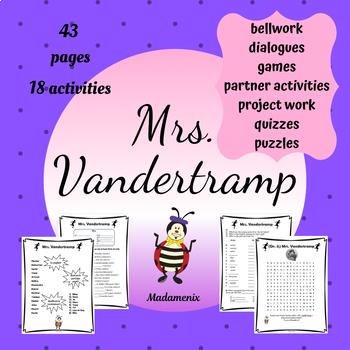 French Mrs Vandertramp Les Verbes Conjugues Avec Etre Au Passe Compose