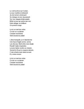 French Music - Les voiles par POOM