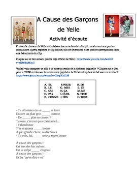 French Music Video and Language Analysis - Yelle