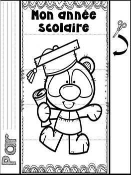 French My End of Year Flipbook/ Mon année scolaire - Livre à rabats