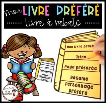 French - My Favorite Book / Mon livre préféré - Livre à rabats