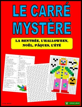 French Mystery Square