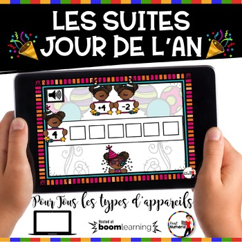 French NEW YEAR'S DAY BOOM Cards - Les suites (Jour de l'AN : Jeu 4)