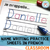 French Name Writing Practice Sheets: Customized for your C