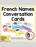 French Names Conversation Cards Discovering French Bleu Chapter 1