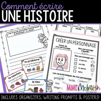 2a202e626fb French Narrative Writing Comment écrire une histoire by Mme McIntosh