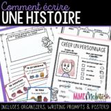 French Narrative Writing/Comment écrire une histoire