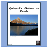 French - National Parks of Canada - project & internet activity