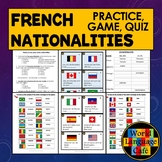 French Nationalities: Practice, Quiz, and Game